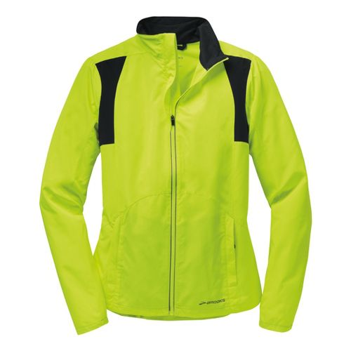 Womens Brooks Nightlife Essential III Running Jackets - Nightlife L