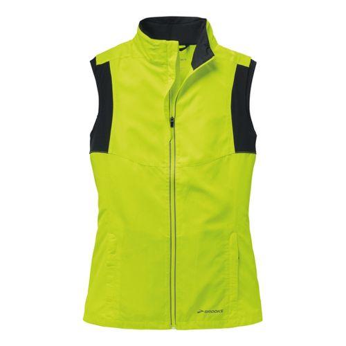 Womens Brooks Nightlife Essential III Running Vests - Nightlife L