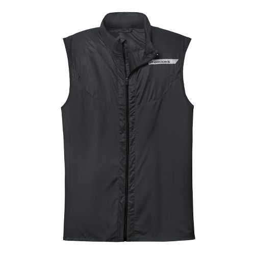 Mens Brooks LSD Lite Vest IV Running Vests - Black XL