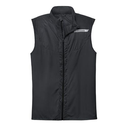 Mens Brooks LSD Lite Vest IV Running Vests - Black XS
