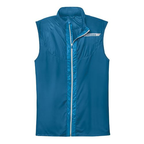 Mens Brooks LSD Lite Vest IV Running Vests - Poseidon/Baltic L