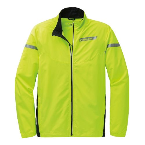 Mens Brooks Essential IV Running Jackets - Nightlife XL