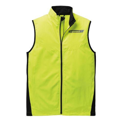 Mens Brooks Essential Vest IV Running Vests - Nightlife S