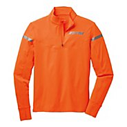 Mens Brooks Essential III Long Sleeve 1/2 Zip Technical Tops