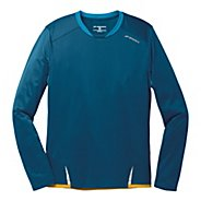 Mens Brooks Infiniti Long Sleeve No Zip Technical Tops