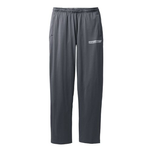 Mens Brooks Spartan Pant III - Regular Full Length Pants - Anthracite M