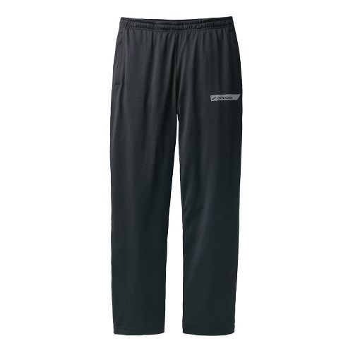 Mens Brooks Spartan Pant III - Regular Full Length Pants - Black XXL