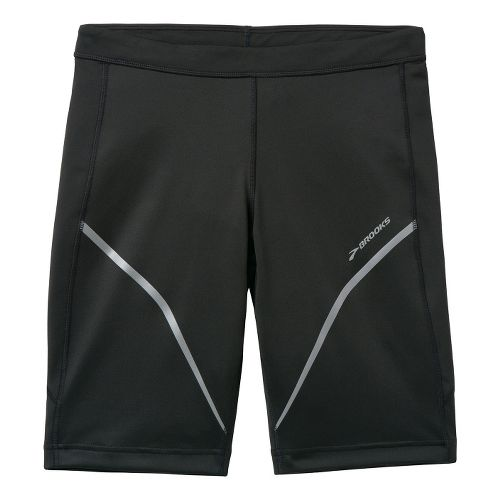 Mens Brooks Infiniti Short III Fitted Shorts - Black S