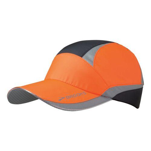 Brooks Nightlife Hat III Headwear - Brite Orange/Anthracite