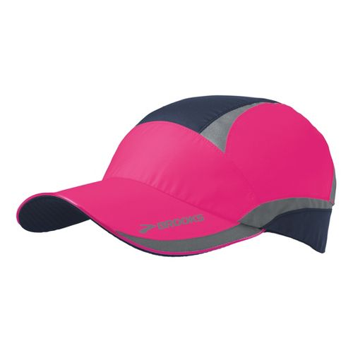 Brooks Nightlife Hat III Headwear - Brite Pink/Midnight