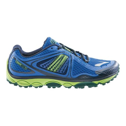 Mens Brooks PureGrit 3 Trail Running Shoe - Blue 8.5