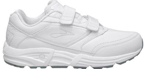 Mens Brooks Addiction Walker V-Strap Walking Shoe - White 11.5