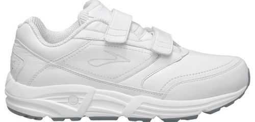 Mens Brooks Addiction Walker V-Strap Walking Shoe - White 14