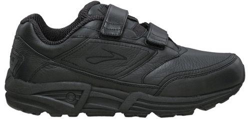 Womens Brooks Addiction Walker V-Strap Walking Shoe - Black 6