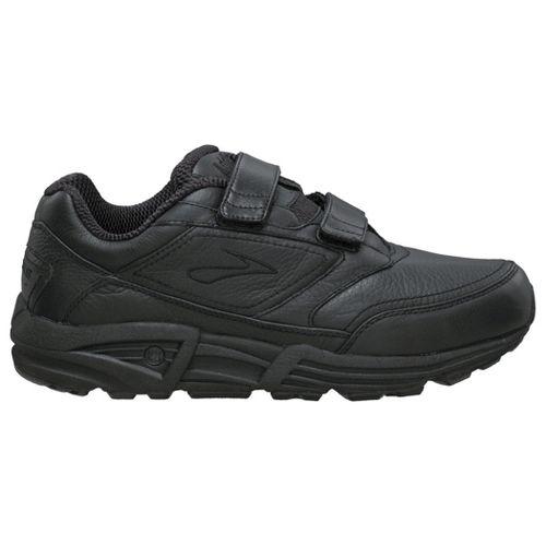 Womens Brooks Addiction Walker V-Strap Walking Shoe - Black 8.5