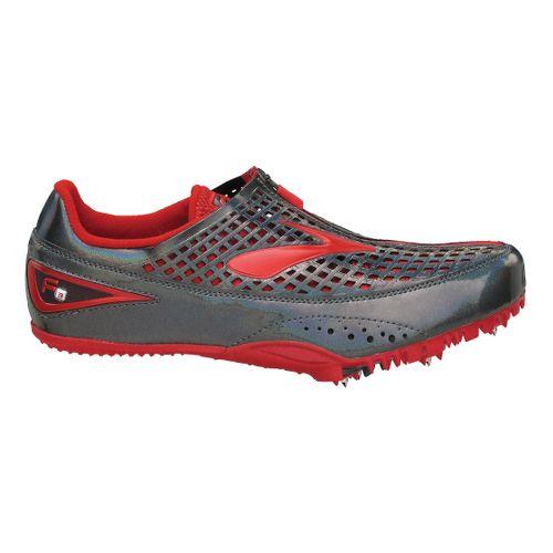 Brooks F3 Racing Shoe - Grey/Red 7.5
