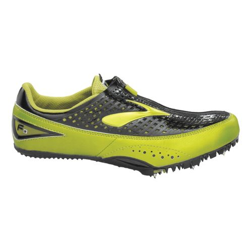 Brooks F3 Racing Shoe - Sulphur/Black 6.5