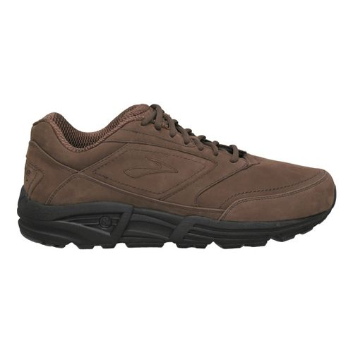 Mens Brooks Addiction Walker Walking Shoe - Coffee/Black 14