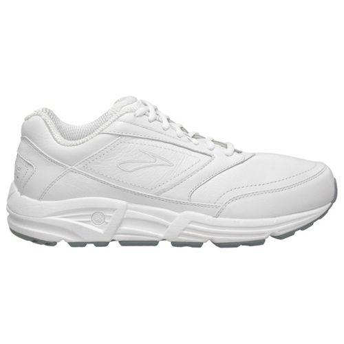 Mens Brooks Addiction Walker Walking Shoe - White 7.5