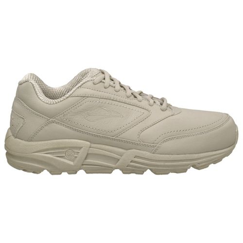 Womens Brooks Addiction Walker Walking Shoe - Bone 9.5