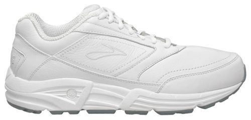 Womens Brooks Addiction Walker Walking Shoe - White 7.5