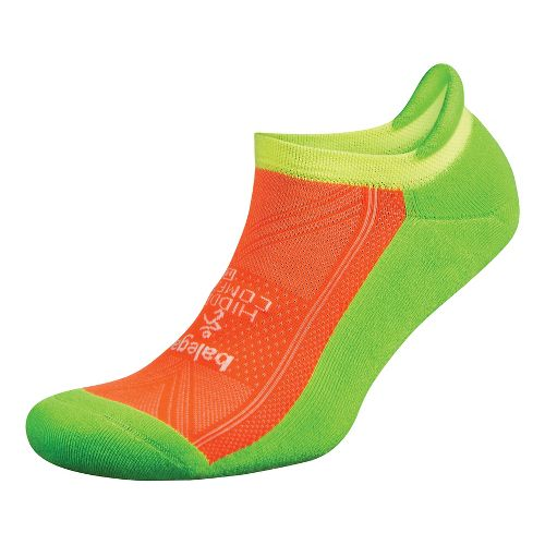 Balega Hidden Comfort Single Socks - Multi Neon L