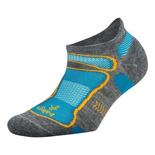 Balega Ultra Light No Show Socks - Mild Grey L
