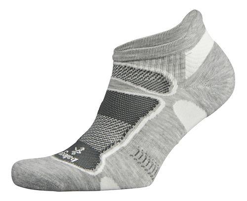 Balega Ultra Light No Show Socks - Grey L
