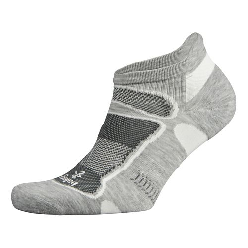 Balega Ultra Light No Show Socks - Grey L