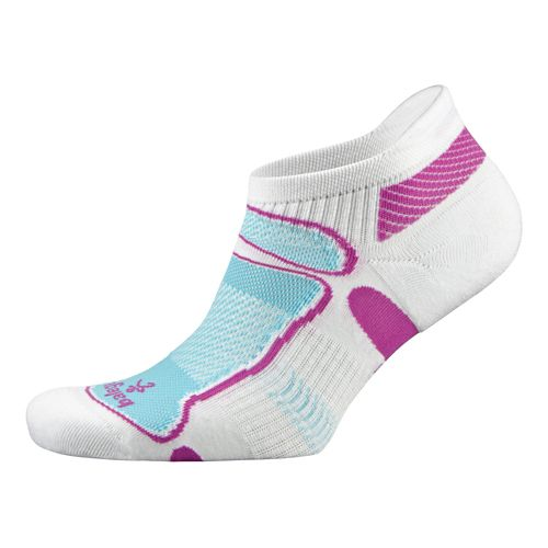 Balega Ultra Light No Show Socks - White Berry S