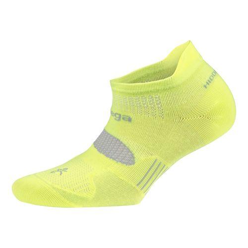 Balega Hidden Dry 2 No Show Socks - Neon Yellow M