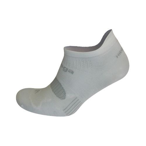 Balega Hidden Dry 2 No Show Socks - White L