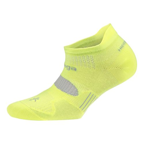 Balega Hidden Dry 2 No Show Socks - Neon Yellow S