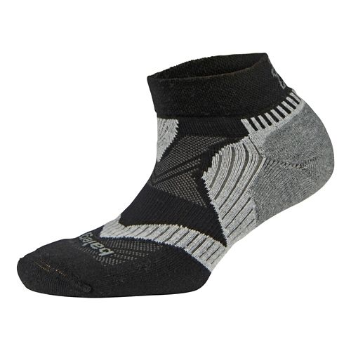 Balega Enduro 2 Low Cut Socks - Black/Grey L