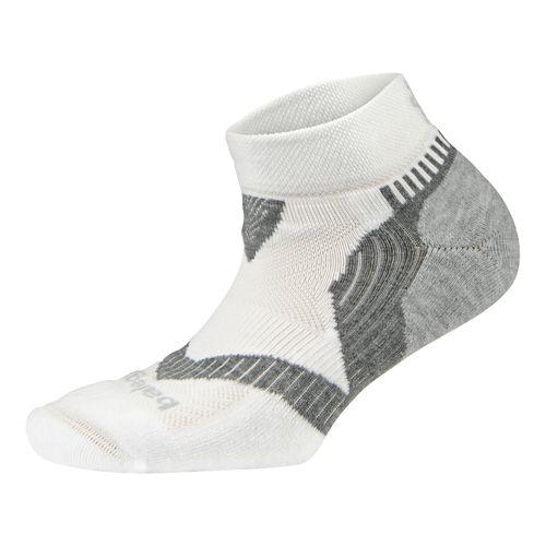 Balega Enduro 2 Low Cut Socks - White/Grey S