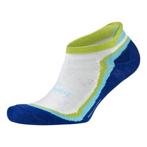 Womens Balega Enduro 5 No Show Socks - Electric Blue M