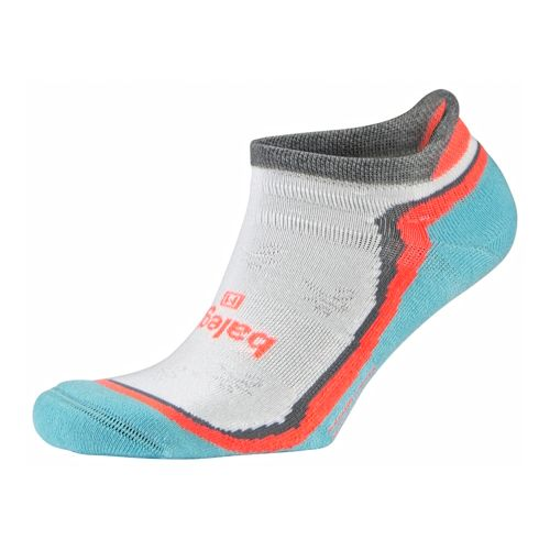 Womens Balega Enduro 5 No Show Socks - Peacock S