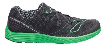 Mens Brooks Green Silence Running Shoe