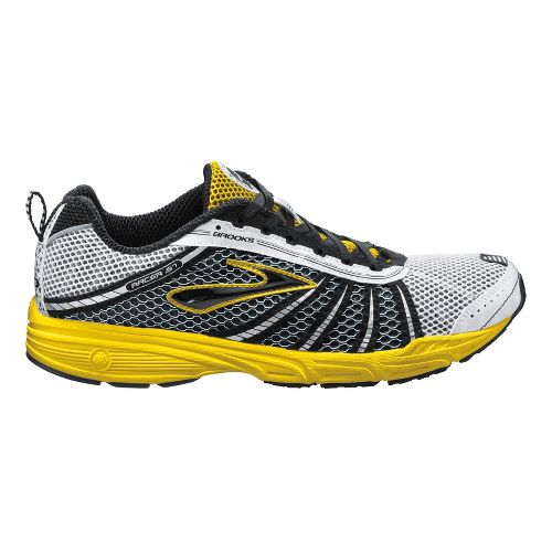 Brooks Racer ST 5 Running Shoe - Silver/Yellow 11.5