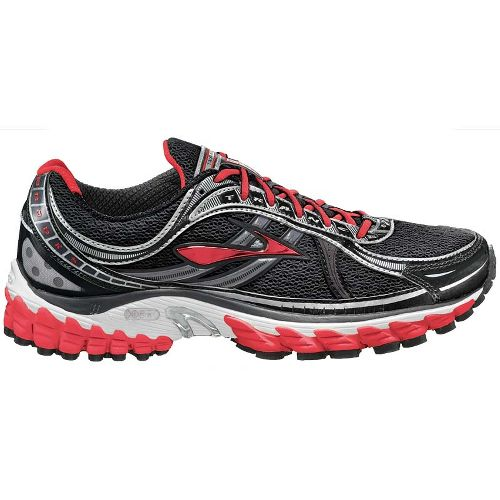 Womens Brooks Trance 11 Running Shoe - Shadow/Hibiscus 7