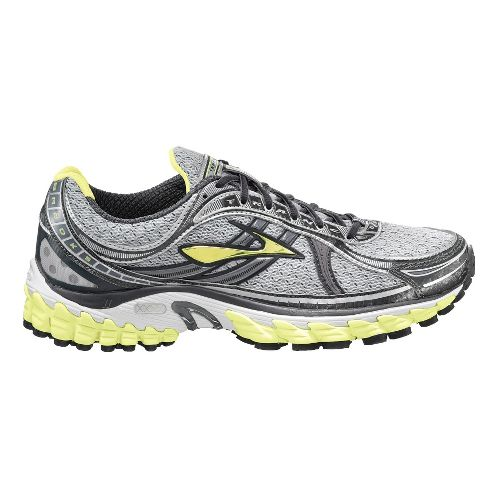 Womens Brooks Trance 11 Running Shoe - Sunny Lime/Black 5