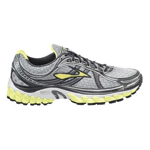 Womens Brooks Trance 11 Running Shoe - Sunny Lime/Black 8.5