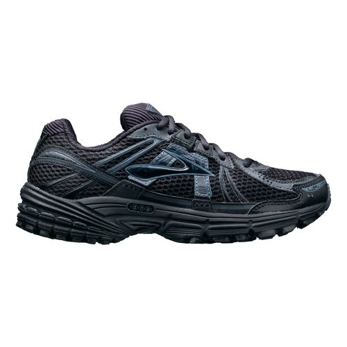 Womens Brooks Adrenaline GTS 12 Running Shoe - Black 10.5