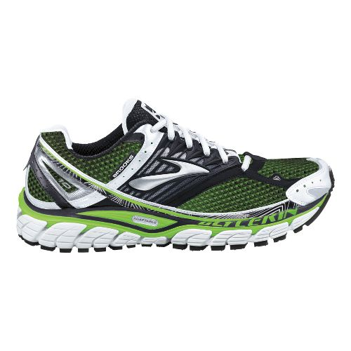 Womens Brooks Glycerin 10 Running Shoe - Anthracite/White 10