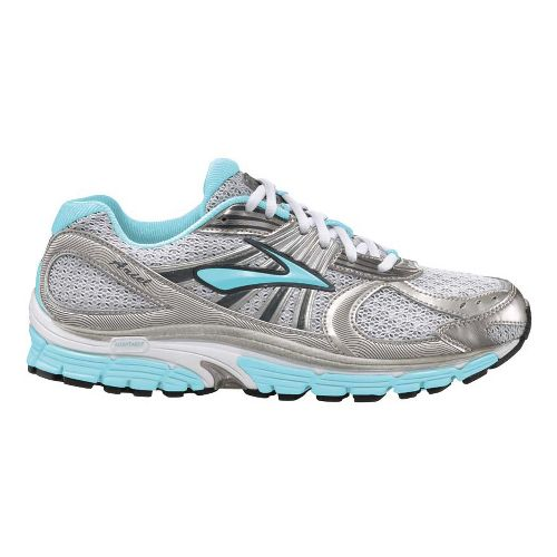 Womens Brooks Ariel 12 Running Shoe - Silver/Ombre 9