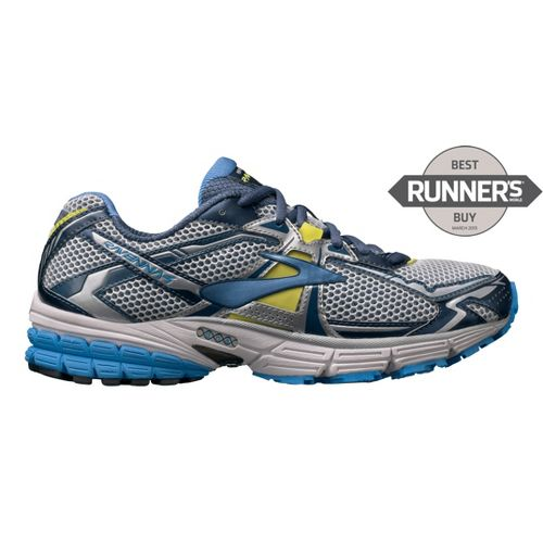 Womens Brooks Ravenna 4 Running Shoe - White/Blue 10