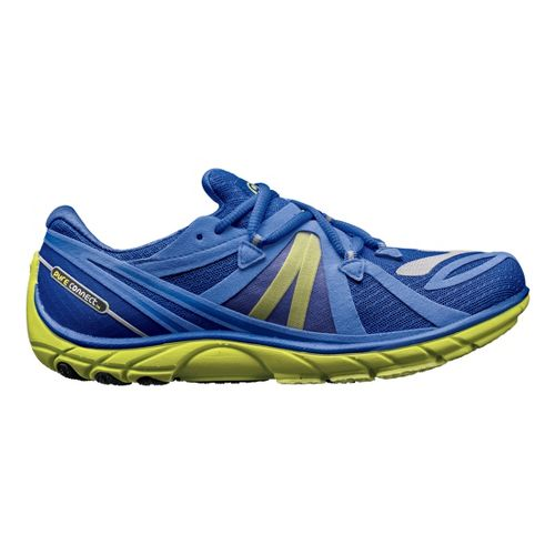 Womens Brooks PureConnect 2 Running Shoe - Blue/Lime 7