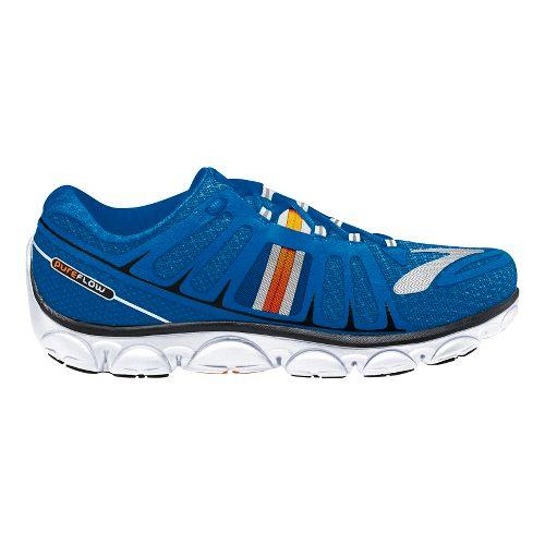 Mens Brooks PureFlow 2 Running Shoe - Blue 12.5