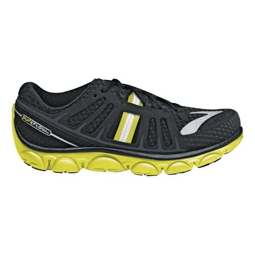 Womens Brooks PureFlow 2 Running Shoe - Anthracite/Nightlife 10.5