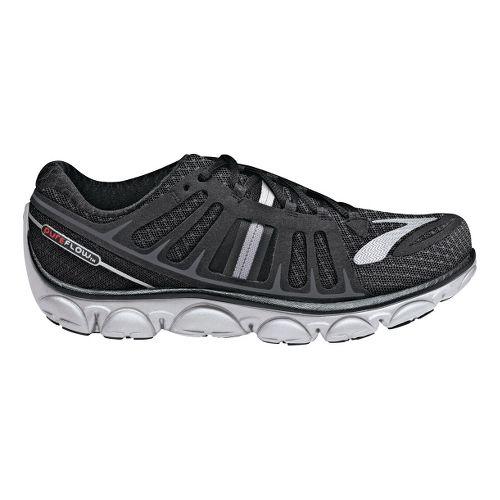 Womens Brooks PureFlow 2 Running Shoe - Black/Anthracite 11